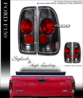 JDM Black altezza Tail Lights Brake Lamp 1997 2003 Ford F150 F250 F350 Truck Cab