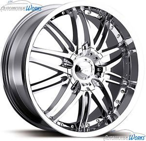 16x7 Platinum 200 Apex 5x120 5x112 20mm Chrome Wheels Rims inch 16""