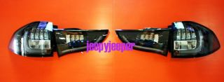 LED Tail Light Lamp Mitsubishi Pajero Montero Sport 2009 SUV Red Black Smoke