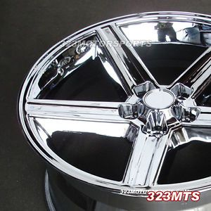 "22"" IROC Rims Wheels Chrome 5x5 Chevy Silverado Sierra Blazer Jimmy C1500"