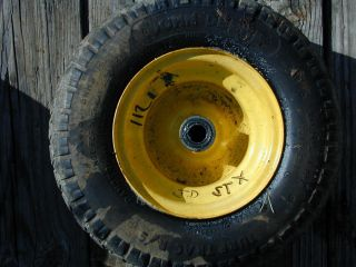 112 John Deere STX Riding Lawn Mower Front Tire Wheel 13 x 6 50 6NHS