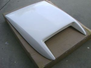 2002 2008 Dodge RAM SRT10 Style Fiberglass RAM Air Hood Scoop New