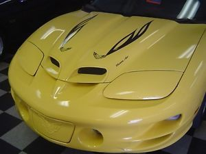 1998 2002 Pontiac Firebird WS 6 Trufiber RAM Air Body Kit Hood