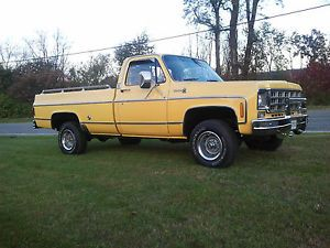 1978 Chevrolet Chevy 4WD Long Bed Pickup Truck V8 Automatic Original 1973 1980