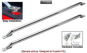 Premium Stainless Truck Bed Rails for 88 98 Chevy GMC 6 5' Short Bed
