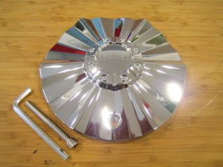 Akuza 508 Reaper Chrome Wheel Rim Center Cap EMR0508 Truck Cap SGD0010 LG0605 34