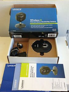 Linksys Wireless G Internet Home Monitoring Camera