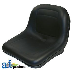 John Deere Lawn Tractor High Back Seat Sabre 1642 1646 1846 Black A GY00071