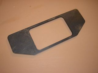 John Deere Garden Tractor Lawn Mower 212 Gear Shift Trim Cover Plate