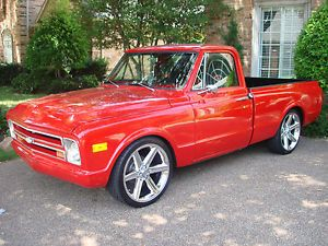 1968 Chevy Pickup Truck Short Bed Restored 396CI Automatic New Wheels and Tires