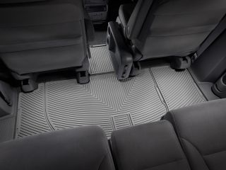 Weathertech® All Weather Floor Mats 2005 2010 Honda Odyssey Grey