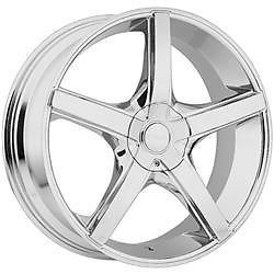 22 inch Akuza Axis Chrome Wheels Rims 5x4 5 Maxima Altima Camry Highlander Rav 4