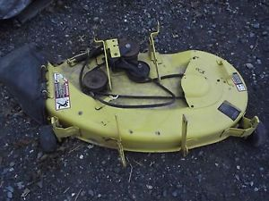 John Deere STX38 Mower Deck 38 inch Excellent Condition No Rust Welds Dents