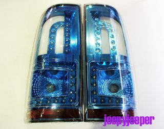 BM LED Tail Light Lamp Toyota Hilux MK6 MK7 Vigo Champ SR5 Smoke Blue 2012 2013