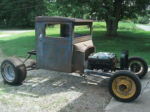 "'26 '27 Ford Model T Truck T Bucket ""Rod"" Project"