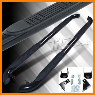2006 2010 Hummer H3 Black Side Step Nerf Bar Running Board Set Pair New LH RH