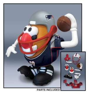 New England Patriots NFL Mr Potato Head Doll Toy