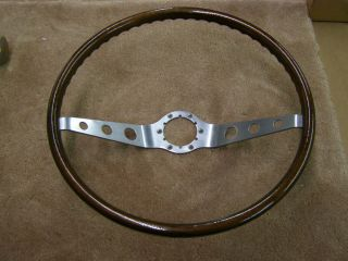Chevrolet 1965 1966 Corvair Woodgrain Steering Wheel Corsa Spyder Monza
