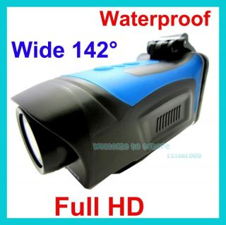 Full HD 1080p Waterproof Car Bike Sport Helmet Action Dash Camera Cam DVR 4 Zoom