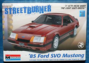 Ford Mustang Model Car Kits