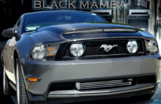 2010 2011 2012 Mustang GT V8 V6 Black Mamba II RAM Air Performance Hood