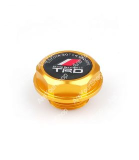 Oil Fuel Filler Racing Engine Tank Cap Cover Plug for Toyota Lexus Gold