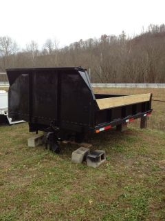 Dump Bed 8'x11' for 1 Ton Truck Ford Dodge Chevy with Double Cylinder Sub Frame