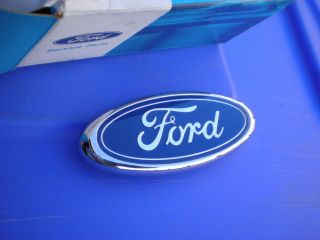 1987 1993 Ford Mustang GT LX New Trunk Hatch Blue Oval Emblem