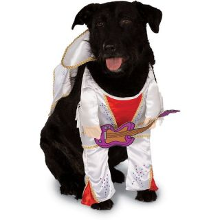 New King of Rock Roll Hound Dog Pet Halloween Costume Large