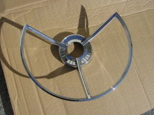 1959 Ford Fairlane 500 Galaxie Retractable Steering Wheel Horn Ring Car Parts