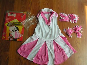 New with Tag Cheerleader Pet Costume Halloween Dog Costume Size L Rubies Dress