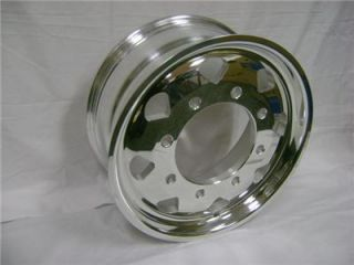 International MXT Polished Aluminum Wheels New Old Stock 108529275