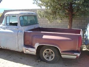 GMC Parts Truck 1955 1957 Short Bed Custom