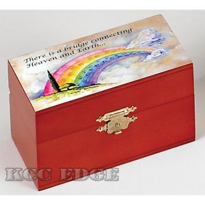Brand New Rainbow Bridge Cremation Urn for Pets Dog Cat Puppy Small