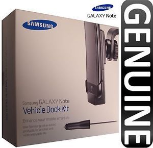 New Genuine Samsung Galaxy Note N7000 Vehicle Car Dock Kit Holder ECS K1E1BEG