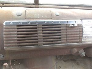 47 48 49 50 51 52 53 GM Chevy Pickup Truck Dash Radio Speaker Grille Cover