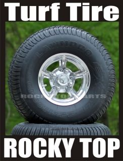 Lifted Golf Cart Wheel Street Tire Combo for Lift Kit
