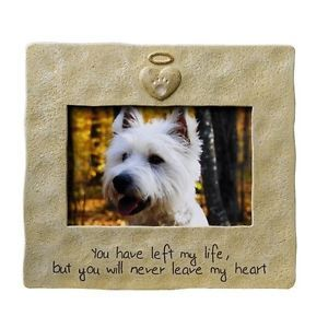 Pet Memorial Picture Frame Dog Cat Remembrance Photo
