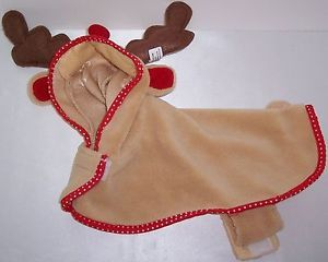 Dog Cat Clothes Small Pet Holiday Jacket Halloween Costumes Christmas Reindeer