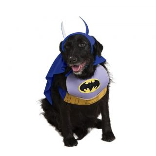 New Batman Pet Dog Costume Sizes SM Med LG Free USA Shipping