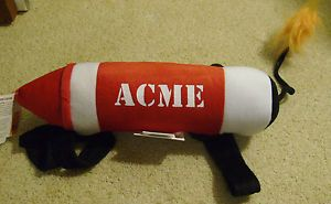 Large Acme Dynamite Halloween Costume Dog Cat Puppy Pet Clothes Apparel New