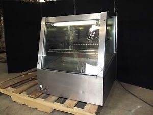 APW Wyott SDC 24sx Model Table Top Refrigerator Cooler Display Case Nice AH