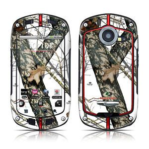 Casio G'Zone Commando Skin Cover Case Decal Winter Hunters Camo