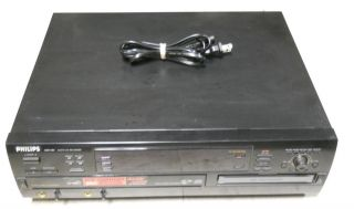 Philips CDR785 3 Disc Audio CD Changer Recorder Used