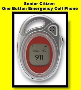 Cell Phones for Senior Citizens One Button Emergency Phone
