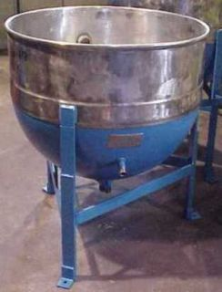 50 Gallon Sanitary Stainless Steel Jacketed Kettle Tank in NJ