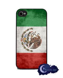 Mexican Flag iPhone 4 4S Slim Case Cell Phone Cover Mexico