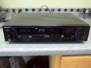 Sony RCD W3 Compact Disc CD Player Recorder CD R CD RW Dual Disc Parts Repair