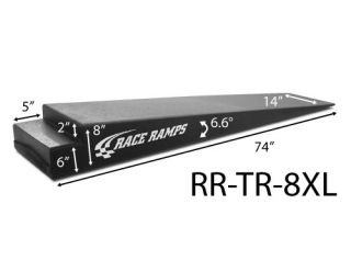 Race Ramp 8 inch Xtra Long Trailer Vehicle Loading Ramps