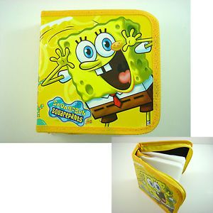 Spongebob Squarepants Bob CD VCD DVD Storage Case Holder Hold 40pcs CD DVD